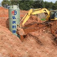 上海弘泱定制一體化預制泵站玻璃鋼泵站廠家