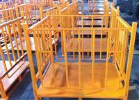 廠家直銷折疊金屬籠大鐵籠可租賃倉庫儲物籠